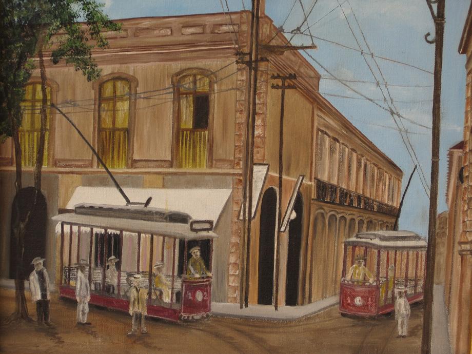 marianela noguera unique scenes of vintage oil paintings